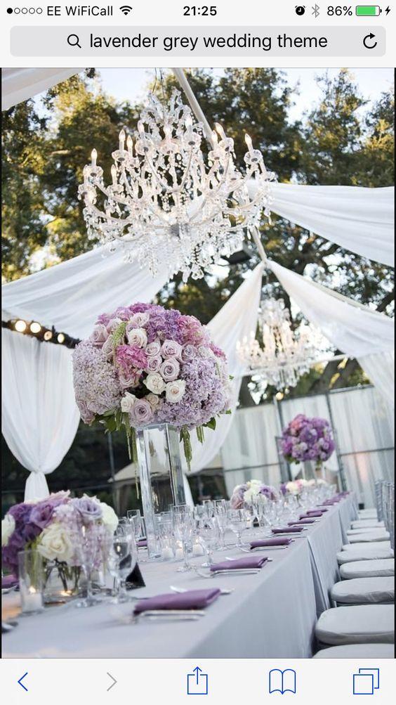 Purple Backyard Wedding : Wedding, Grey and Grey weddings on Pinterest