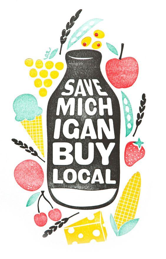 Save Michigan Buy Local #food