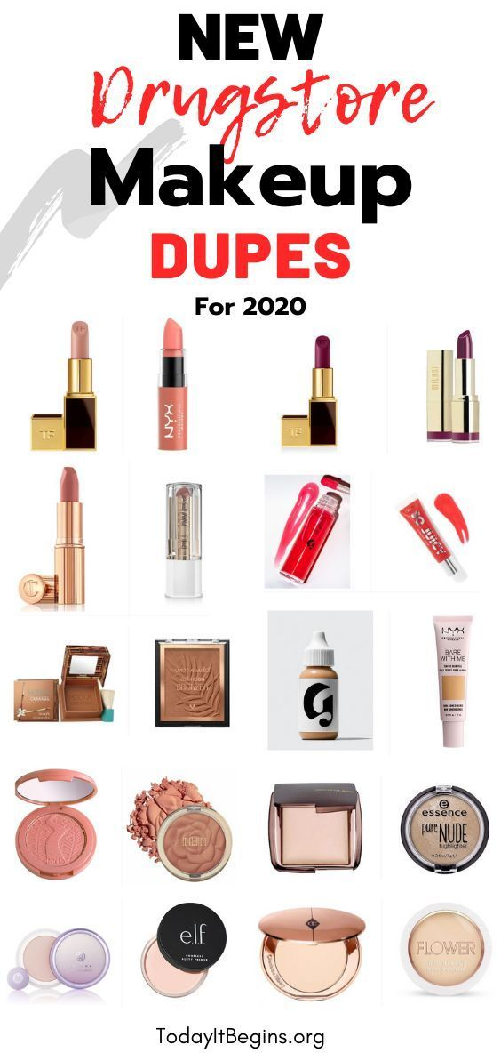 10 Amazing Drugstore Makeup Dupes For 2020 Today It Begins In 2020 Drugstore Makeup Dupes Makeup Dupes Drugstore Makeup