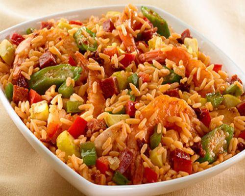 Arroz Con Pollo Y Verduras Cuisine Plat Avec Du Riz Idée Recette