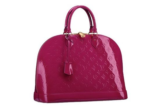 """From Lucky Magazine's """"Dream Bags for Spring"""" list.  Leather, Alma, $2,740, Louis Vuitton"""