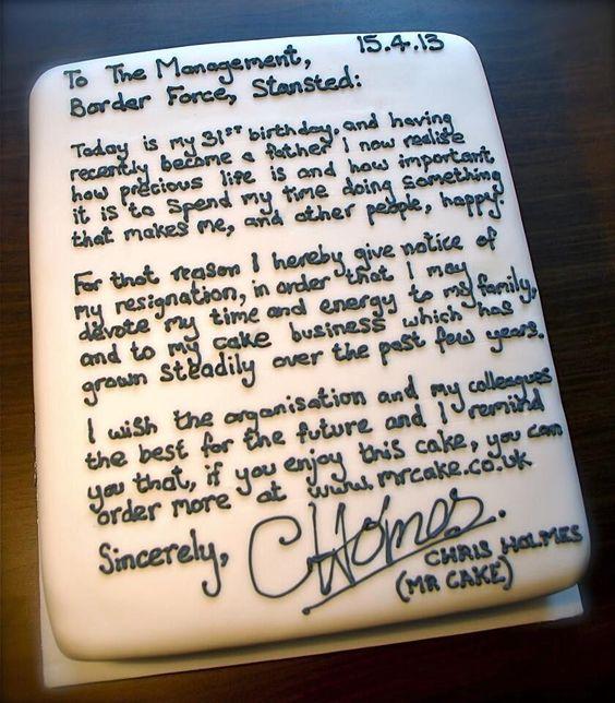 Best  Resignation Letter Uk Ideas On   Funny