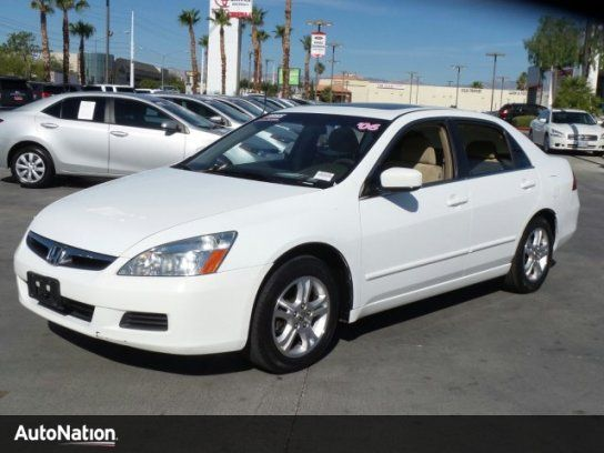 Sedan, 2006 Honda Accord EX with 4 Door in Las Vegas, NV