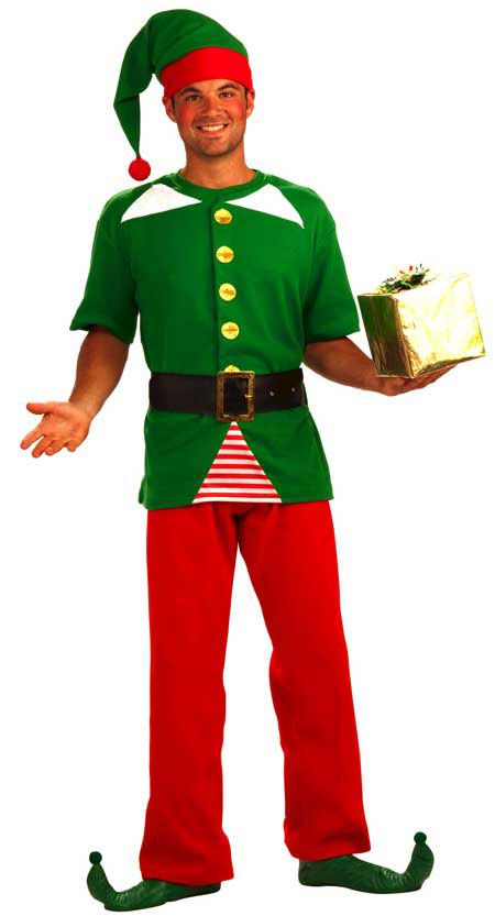 Jolly christmas elf costume for adults 26 96 unisex adult elf outfit