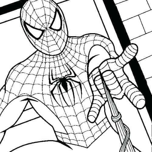 Printable Spiderman Coloring Pages Easy And Fun Free Coloring Sheets Spiderman Coloring Coloring Pages Online Coloring Pages