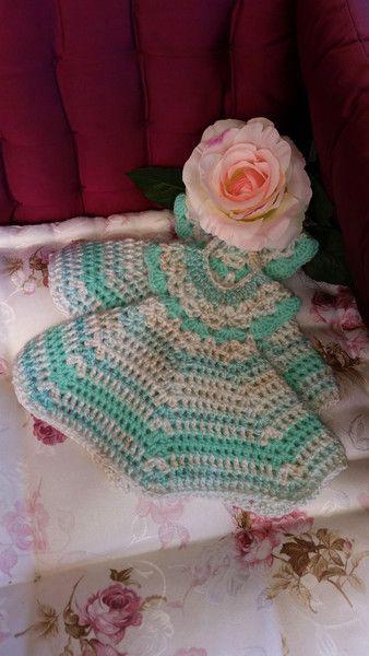 Wunderschöne  Vintage-Style Topflappen - Kleid  von RHS-Berlin  auf DaWanda.com