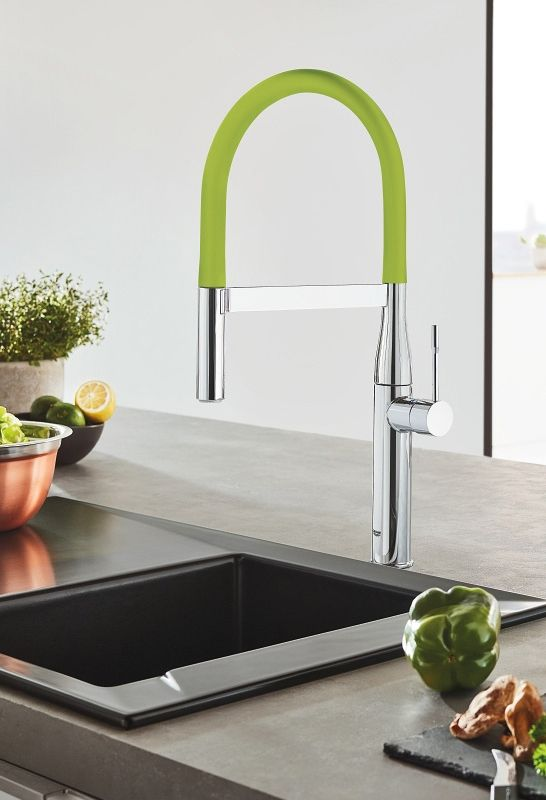 GROHE Concetto 32663DC1-Supersteel-SB beim Spülenshop24 GROHE - grohe concetto küchenarmatur
