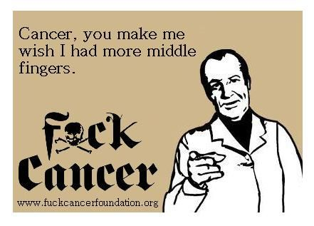 Image result for i hate cancer meme