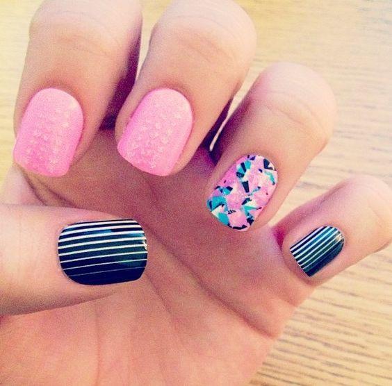 Nails acrylics fake nails glue on diy walmart cute for Acrylic nails walmart salon