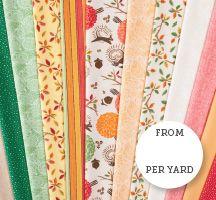 Acorn Park Quilting Fabric