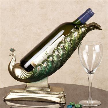 Elegant Plumage Wine Holde