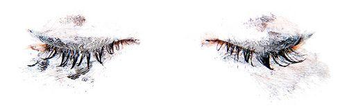 eyelashes: Artwork Patterns, Smudgy Eyes, Eyelash Extensions, Bedroom Eyes, Creativesss Art, Watercolor Eyes, Crying Eyes, Art Photography Tattoos