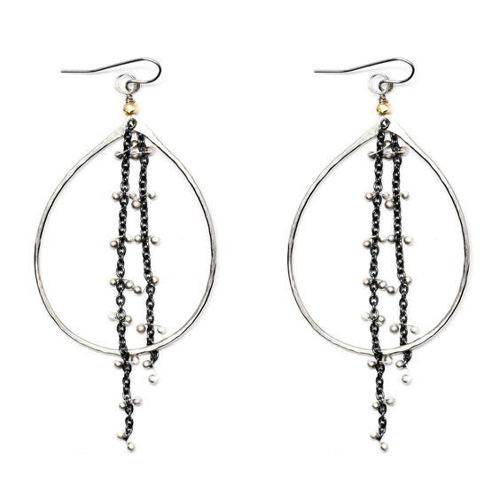 """""""Dreamcatcher"""" Earrings by Diana Acuesta"""