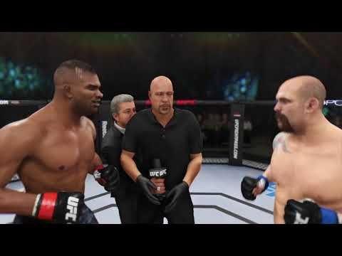 Let S Fight Ufc 3 Alistair Overeem Vs Tim Johnson Gameplay