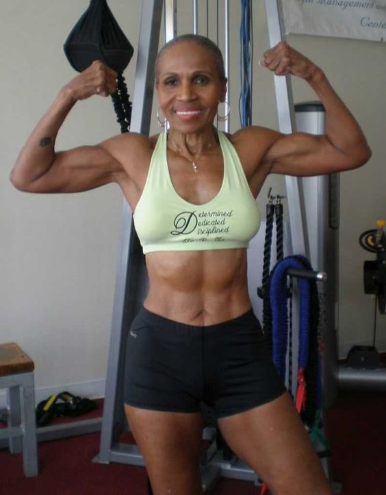 ERNESTINE SHEPHERD: A 77-YEAR-OLD FEMALE BODYBUILDER