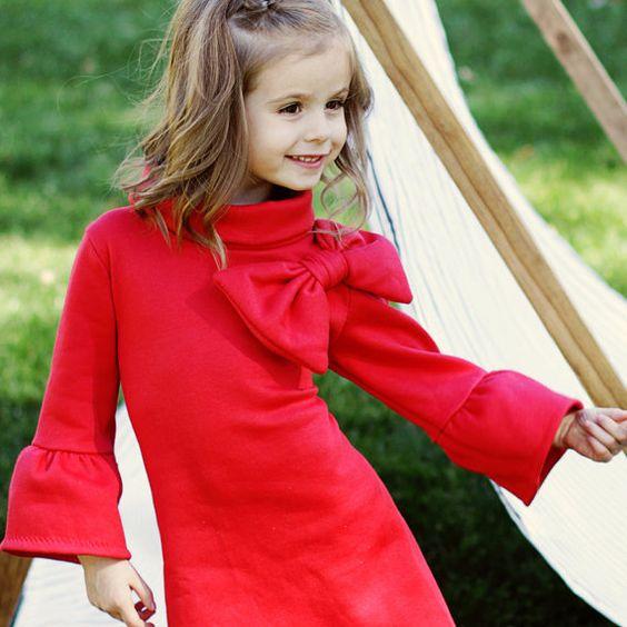 Kinder Nähen Muster Pdf Mädchen Kleid von MyChildhoodTreasures