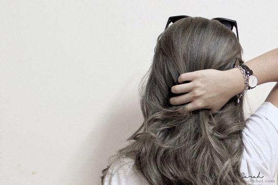 grey ash brown hair - Google Search:
