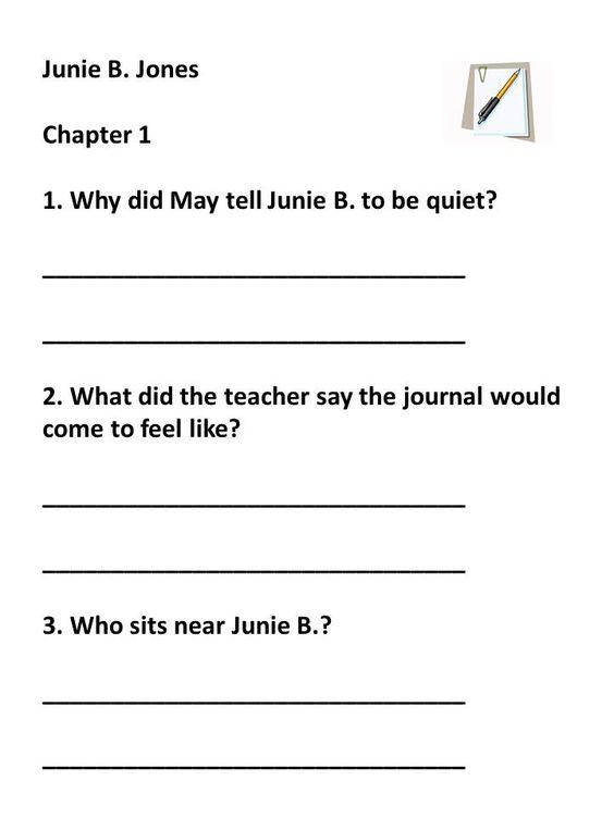 junie b jones first grader pdf