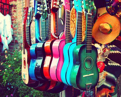 Las Guitarras by Myan Soffia --