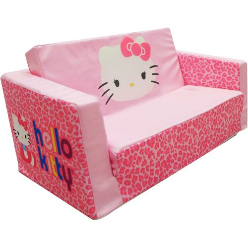 Hello Kitty Bows Small Flip Sofa: Toddler : Walmart.com