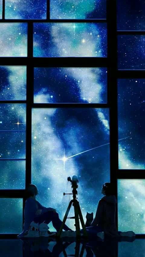 Pin By Sya Aziz On Soul Anime Scenery Anime Galaxy Scenery Wallpaper