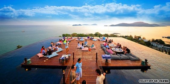 Baba Nest rooftop bar, Phuket