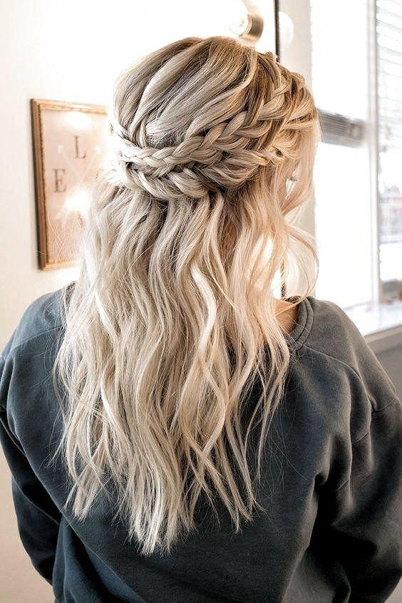 Prom Hoco Hair Wedding Updo Hairstyles Braid Styles For Long Or Medium Length Hair Easy Prom Hoco In 2020 Simple Prom Hair Hair Styles Prom Hairstyles For Long Hair