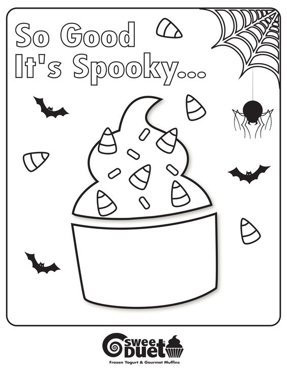 Coloring yogurt and coloring pages on pinterest for Yogurt coloring page