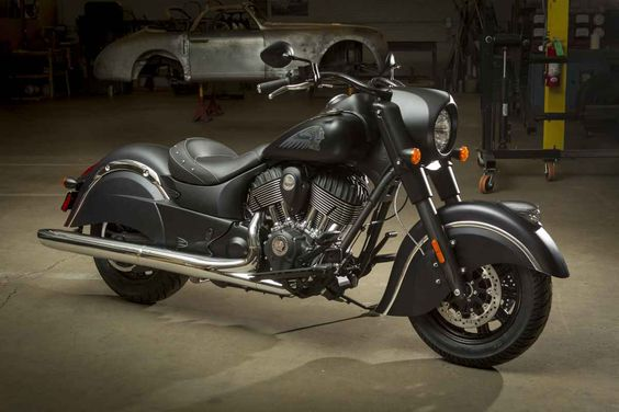 The 2015 #indian chief Dark Horse #motorcycle. #beautiful