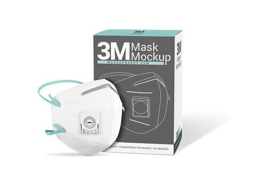 Download Medical Face Mask Mockup Face Mask Branding Mockups Medical