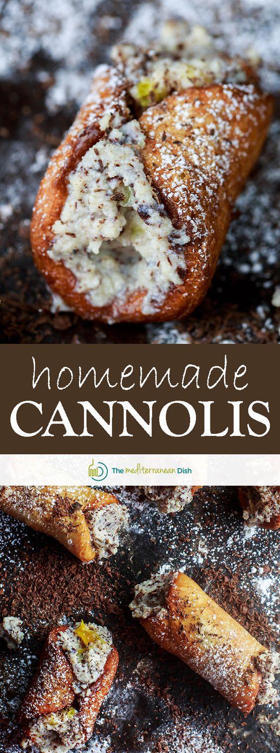 cannoli recipe how to make cannolis recipe