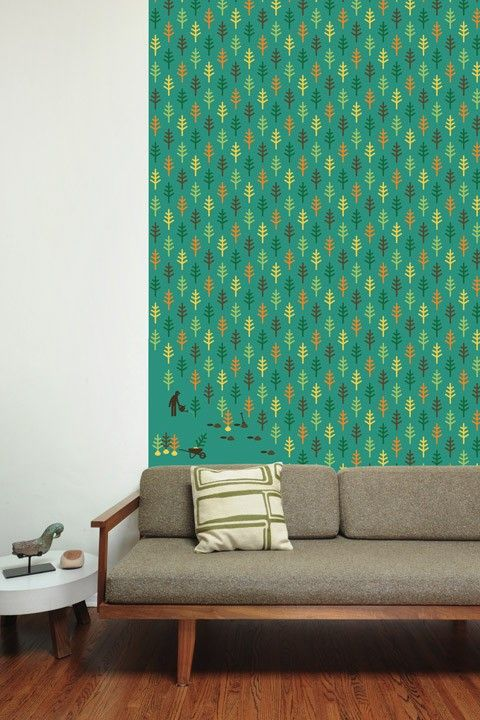Reforestation ~ Pattern Wall Tiles