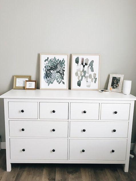 Dani Rose Design Ikea Hemnes Dresser 8 Drawer White Target Art Pergo Southe In 2020 White Bedroom Furniture Home Decor Bedroom White Furniture