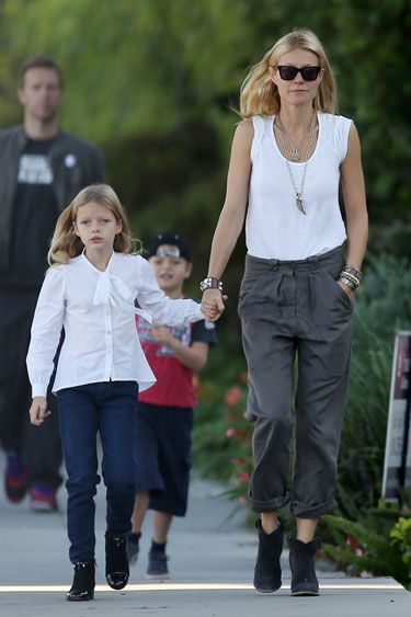 Chic New Moms: Notes on Style for the Duchess - Gwyneth Paltrow