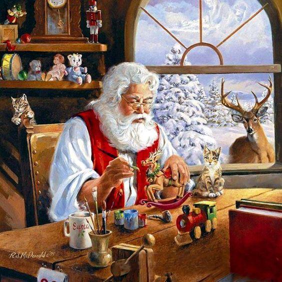 levkonoe: R.McDonald/ Санта-Клаус экономит на подарках!: