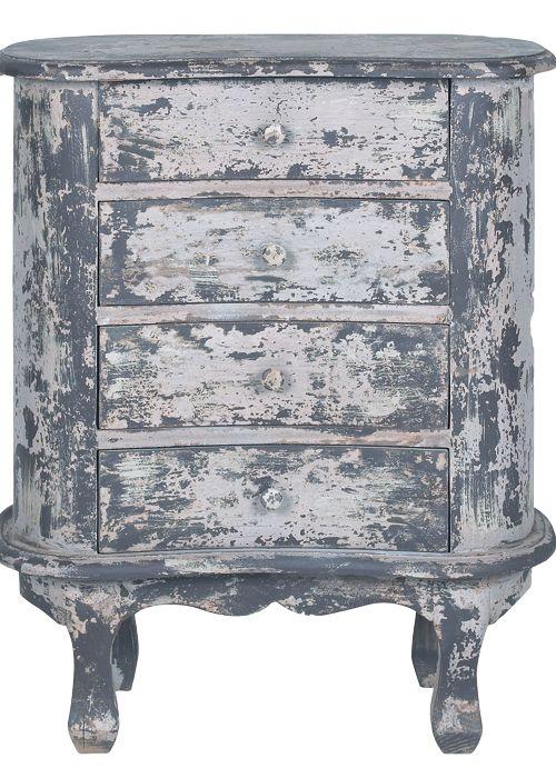 cajones de pomax 270 euros aprox decapado cómoda mueble decapado gris