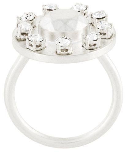 Maison Margiela crystal embellished ring