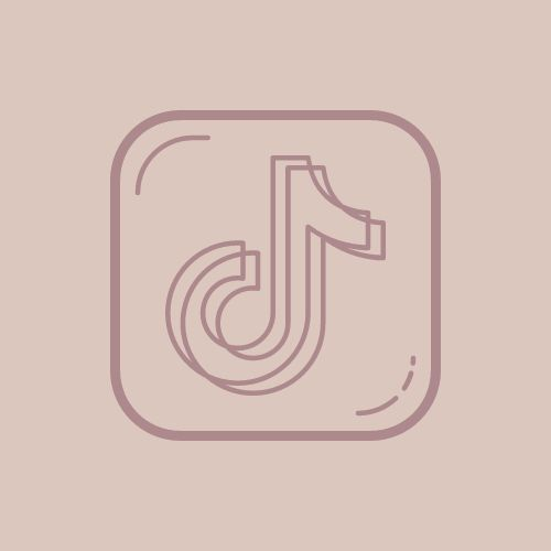 Pink Tik Tok App Icon App Icon Cute App Shortcut Icon Can't wait to see your creative ideas. pink tik tok app icon app icon cute