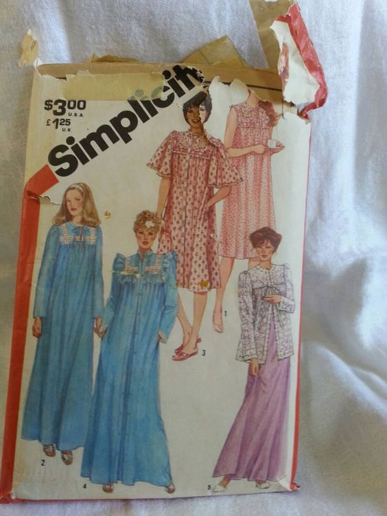 Preowned Pattern 1981 Simplicity 5330 by VintageSewingShoppe