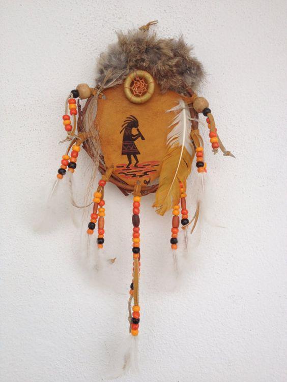 Mandela naturel Amérindien  Kokopelli  ref: par IndianHeritageArts