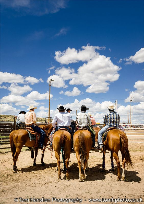 """""""4th of July Rodeo I"""" (42x59cm) Limited edition editorial travel photography (Giclée) by Tom Hanslien on @Artfinder. Back in 2010 I had the pleasure of celebrating the 4th of July in Big Piney, Wyoming, USA. After the parade in the town centre we went to the outskirts and the local rodeo arena to watch the 4th of July Rodeo."""