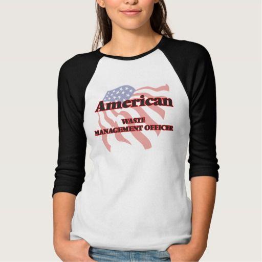 American Waste Management Officer T Shirt, Hoodie Sweatshirt