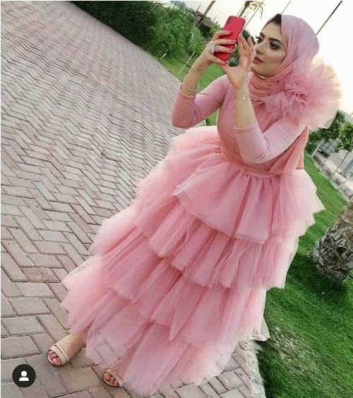 Puffy Soiree Hijab Dresses Wedding Dress Couture Couture Evening Dress Soiree Dress