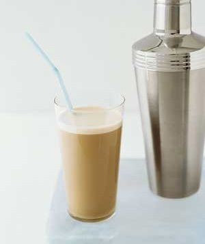 Cocktail Shaker as Iced Coffee Maker: Upgrade your ice coffee by preparing it in a martini shaker. Fill it with coffee, ice, milk, sugar and flavoring and shake for a frothy, evenly blended caffeine fix.