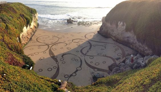 Wow ► The City Exposed Earthscapes from San Francisco Chronicle {Il réalise des motifs incroyables