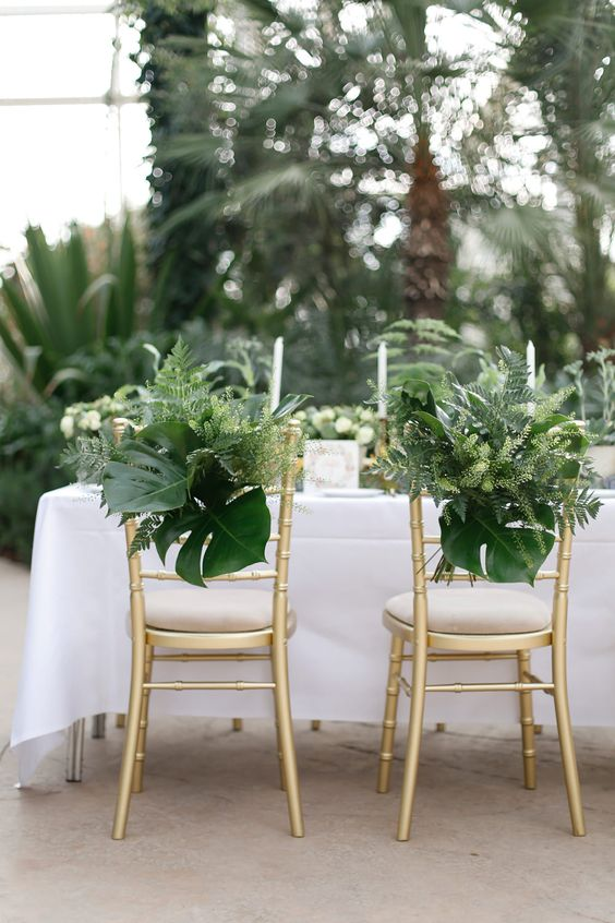 Greenery wedding decor Wisley Venue Hire Botanical Wedding Decor Ideas Amy Fanton Photography