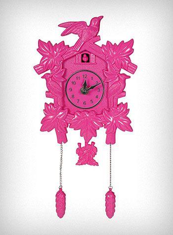Love clocks and Pink!!!