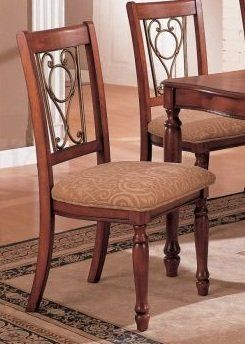 """2-pc Classic Design Dining chair PDS F10229 by Click 2 Go. $239.99. dark cherry finish. classic design dining chair set of 2. only the dining chair in the picture. chair size: 19W""""x18D""""x40H"""". set of 2 chair. some assembly maybe required."""