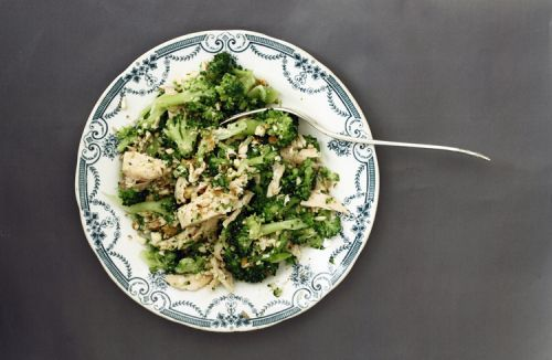 Salmon and broccoli salad - A Tale of Two
