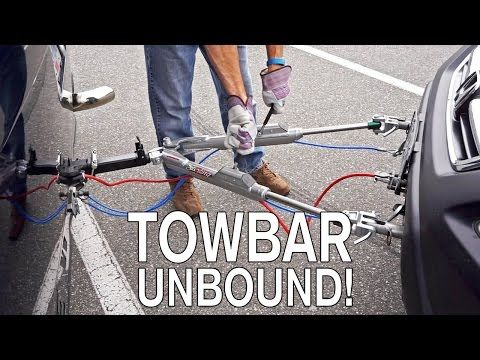 Towbar Unbound How It S Made Rv Edition Youtube With Images Towing Rv Maintenance Rv Stuff